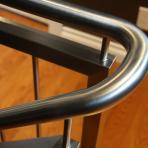 Stainless steel railing with pickets - Stainless Concepts - Design and Fabrication Specialists - Winnipeg, Manitoba