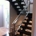 Show Home Stainless Steel Railing - Stainless Concepts - Design and Fabrication Specialists - Winnipeg, Manitoba